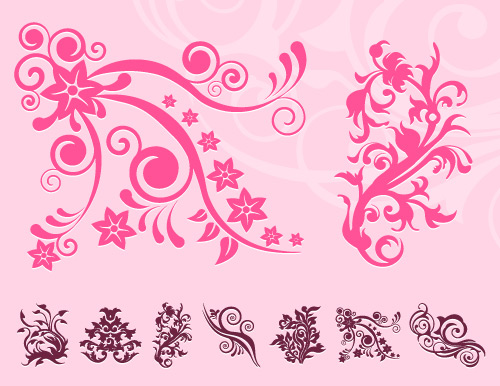 download floral design element