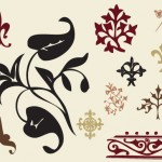 free ornate swirl graphics