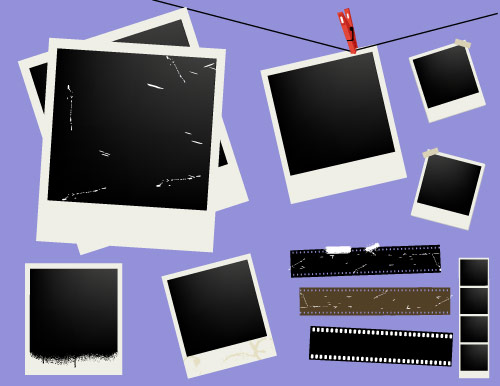 download free vector polaroid frame backgrounds