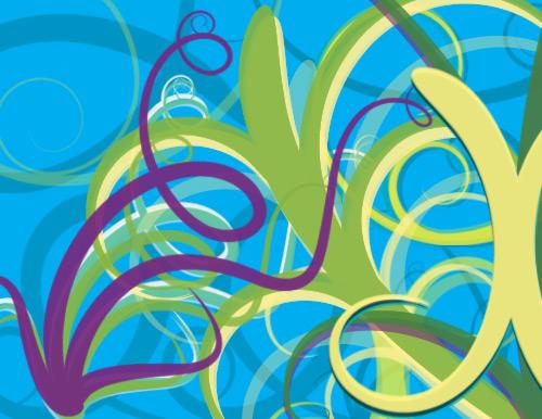 Free swirls and vines brushes