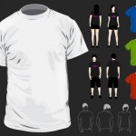 download blank tshirt graphic in vector format