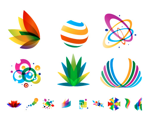 Colorful Vector Logos