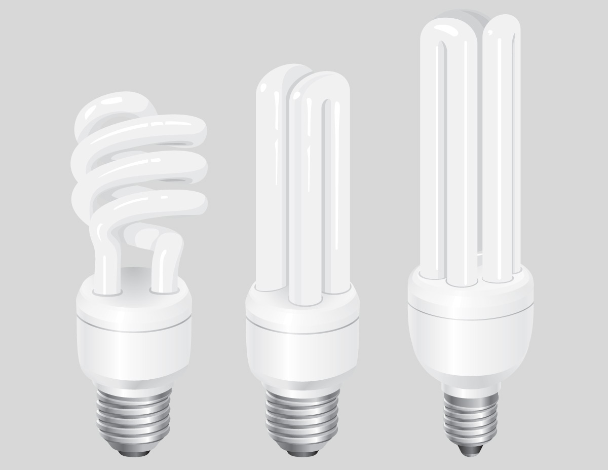 Fluorescent Light Bulb Vector The Image Kid Has It