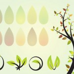 Green Eco Vector Set