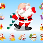 Santa Claus Vector Pack