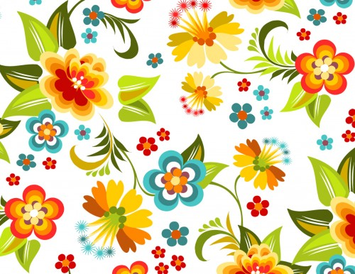 colorful-floral-patterns