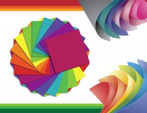 Colorful Paper Vector Pack