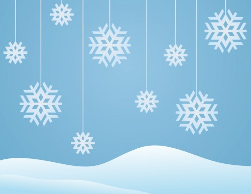 snowflakes-winter-background